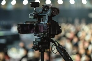 video camera streaming event